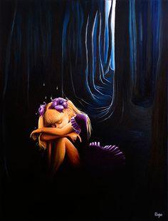 """Le Hermosa Tranquilidad yace en la Oscuridad   Título: """"Bella Soledad"""" Técnica: Óleo sobre Bastidor Medida: 60 x 80 cm. (5 cm. grosor) Creación: 2016 Colección: Dolls  Verificar Disponibilidad: rigoyarte@gmail.com  Artista - Rigoberto Castro (Rigo-Art)"""