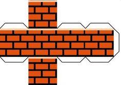 Super Mario DIY brick box