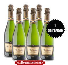 Promoción Navidades laboqueriaOneClick.com  5 botellas cava ecológico Brut Nature Joan Milà + 1 de regalo  ¡Aprovecha esta promoción!