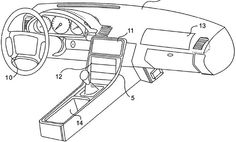 Apple patents a dashboard touchscreen to control your car's key features http://cnet.co/1bkU7mK