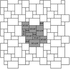 Related image with Versailles Tile Pattern Layout Diagram