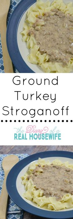 Ground turkey stroganoff recipe.Add this to your list of great dinner ideas. Your family will love it