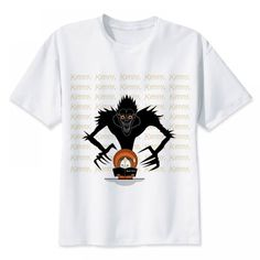 Everything on SALE & Free Worldwide Shipping! death note T-shirt Price: $ 25.00 & FREE Shipping #dragonball 3d T Shirts, Mens Tee Shirts, Casual T Shirts, Mens Sweatshirts, South Park, Long Sleeve Gym Tops, Male T Shirt, Summer Tshirts, Shirt Price