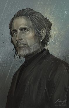 Galen Erso fan art. - Art by Mimmu