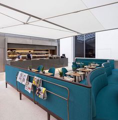 Softroom designs a restaurant for the British Museum's Great Court