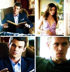 The way Elijah looks at Haley>>>