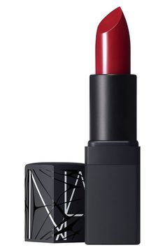 for the perfect red lip try 'Deadly Catch,' by NARS http://rstyle.me/n/vgnein2bn