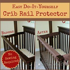 Diy Baby Bed Rail Covers