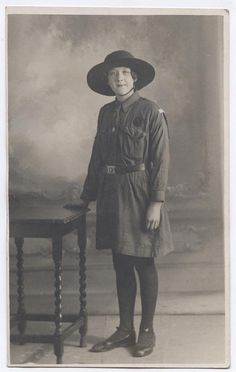 1920s Girl Guide 'Ivy'