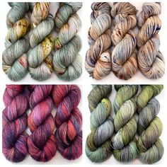 Some new CKY additions Yarn Shop, Hand Dyed Yarn, Crochet Projects, Knit Crochet, Stitch, Knitting, Kitchen, Beautiful, Color