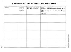 Free Printable Dbt Worksheets Recognizing Your Emotions