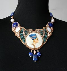 Beautiful embroidered jewelry by Nella Moskvicheva | Beads Magic