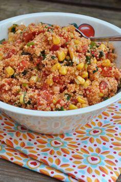 Grillsaison 2014 | Auftakt mit Couscous Salat | Jolijou