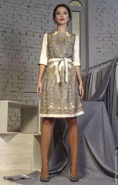 платье из павлопосадских платков, одежда из павлопосадских платков, дизайнерские платья, купить дизайнерское платье, дизайнерские платья от российских дизайнеров,
