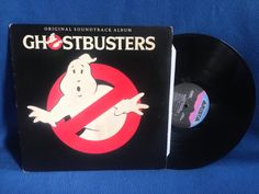 RARE Vintage Ghostbusters  Original Soundtrack by sweetleafvinyl