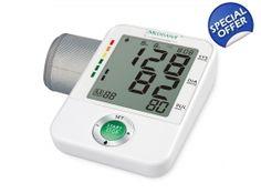Tensiometru de brat Medisana BU A50 ultraperformant de mare precizie Testat si validat clinic Garantie 3 Ani Afisaj mare, prezinta: Sistola, Diastola, Pulsul, Ora si Data Foarte simplu de utilizat: Un singur buton - START/STOP Memoreaza 60 de masuratori pentru 4 utilizatori diferiti Calculeaza o medie a ultimelor 3 valori masurate Functie detectare tulburari de ritm cardiac (aritmii ) Tensiometre24.com Cooking Timer, Digital