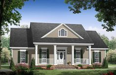 HPG-1888-1-The Mayberry is a 3,196 sq. ft./ 3 bedroom/ 2 bath house plan that you can purchase for $690.00 and view online at http://www.houseplangallery.com/index_files/house-plans-prod_detail.php?planid=HPG-1888-1.