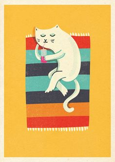 'Kot plażowy' il. Ja Cię Broszę