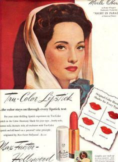 Vintage Make Up Ad