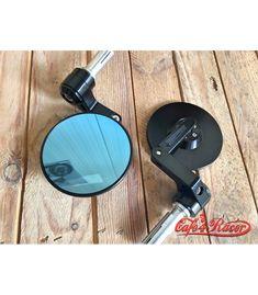 Flat Design CNC Bar End Mirror Type 3 Cafe Racer Parts, Flat Design, Type 3, Cnc, Mirror, Mirrors, Apartment Design