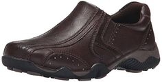 Detour Jimmy Slip-On Casual Shoe For Little Kid/Big Kid - Athletic-style loaver with squared bike toe and padded collar