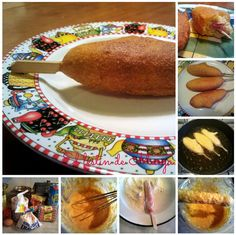Corn Dogs Recipe  Ingredients:  1 cup yellow cornmeal  1 cup all-purpose flour  1/4 tsp salt  1/8 tsp black pepper  1/4 cup white sugar  4 tsp baking powder  1 egg  1 cup milk  1 qt. vegetable oil for frying  2 (16 oz) packages beef frankfurters  16 wooden skewers
