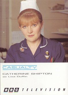 Casualty Catherine Shipton as Lisa Duffin Casualty Tv Show, Casualty Cast, Hospital Tv Shows, Holby City, Medical Drama, Bbc Tv, Television Program, Duffy, Hospitals