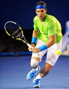 Rafael Nadal. Knee injury, feel better so you can kick some butt & be #1 again, even though you already are #1 to me ;) <3