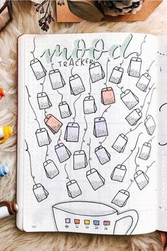 Check out these must try bullet journal mood tracker ideas for NOVEMBER Bullet Journal Mood Tracker Ideas, Bullet Journal Paper, Creating A Bullet Journal, Bullet Journal Cover Ideas, Bullet Journal Lettering Ideas, Bullet Journal Notebook, Bullet Journal Aesthetic, Bullet Journal School, Bullet Journal Themes