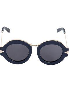 442f0d0800bb Karen Walker  Maze  Navy Blue Sunglasses  280 Karen Walker Sunglasses