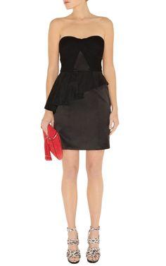 Designer Plisse technique dress DN021