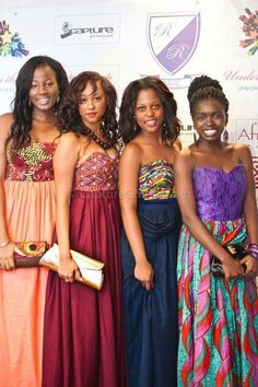 Long ankara dress would be great for a formal event!