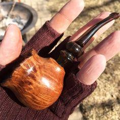 Short Artisan Nose Warmer Tobacco Pipe
