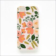 Botanical Rose iPhone 5 Slim Hard Case
