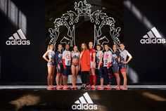 Stella McCartney has revealed her winning designs with Adidas for Great Britain's Olympic contenders.
