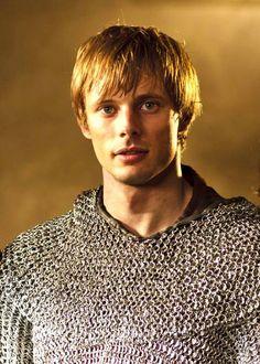 Bradley James as Arthur .... not as good as merlin, but still cool as always :)