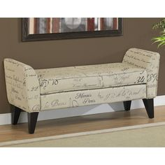 Delightful Christopher Knight Home Mission Beige Tufted Fabric Storage Ottoman Bench    Overstock™ Shopping   Great
