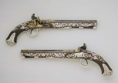 Pistols Europe 1800's. so fancy...love them.