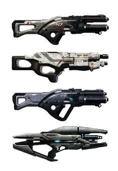 Mass Effect Weapons: