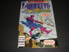 SOLO AVENGERS #1 STARRING HAWKEYE AND MOCKINGBIRD buy it now for $5.00+ ship!!!