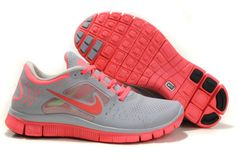 3ff6b64015f Nike Free Run 3 5.0 Shoes Womens LightGrey Peach Black Nike Free Run 2