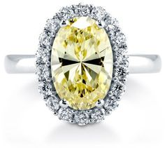 #Berricle                 #ring                     #Oval #Canary #Sterling #Silver #Halo #Cocktail #Ring #2.99 ##r727-ca         Oval Cut Canary CZ 925 Sterling Silver Halo Cocktail Ring 2.99 Ct #r727-ca                              http://www.seapai.com/product.aspx?PID=1265174