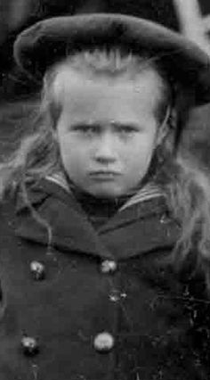 Grand Duchess Anastasia. Not sure if it is...  she usually has a fringe in all the photos I've seen of her.