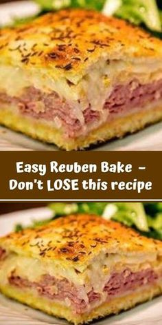You'll Need: 2 tubes ounces each) of refrigerated crescent rolls. 1 pound of sliced swiss cheese. pounds of sliced deli corned beef. 1 can ounces) rinsed and drained sauerkraut. cup of Thousand Island salad dressing. 1 lightly Read more. Corned Beef Recipes, Meat Recipes, Appetizer Recipes, Dinner Recipes, Cooking Recipes, Appetizers, Stuffed Bread Recipes, Fried Cabbage Recipes, Bratwurst Recipes