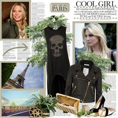 """Cool Girl: Sarah Brandner"" by yamyiy ❤ liked on Polyvore"