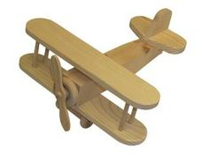 wood toy biplane - I just love wooden biplanes, perhaps it was the Snoopy and Red Baron comics that I grew up with. I plan to make a few in my shop to sell soon.