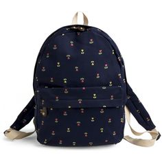 Backpack in the Day ❤ liked on Polyvore