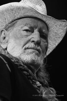 Willie Nelson & Family: The Pacific Amphitheatre, Fri, July 2012 American Legend, Willie Nelson, Lee Jeffries, Country Boys, Good Ol, One And Only, Redheads, Movie Stars, Black And White