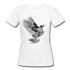 Taube mit Zweig im Schnabel T-Shirts - Frauen Bio-T-Shirt
