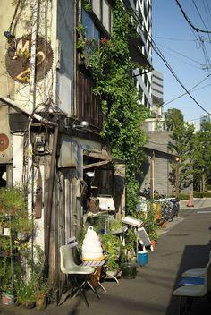 Kagurazaka, Shinjuku city, Tokyo